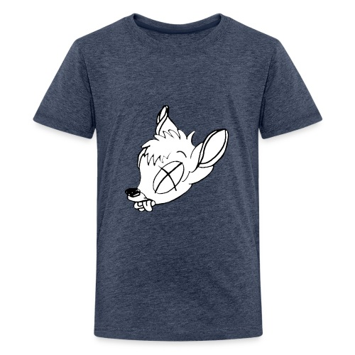 Untitled - Premium T-skjorte for tenåringer