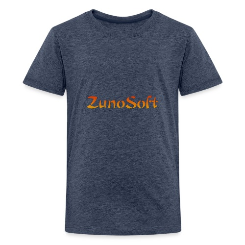 ZunoSoft Logo - Teenage Premium T-Shirt
