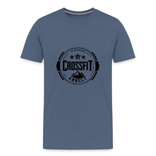 Logo Officiel Noir - T-shirt Premium Ado