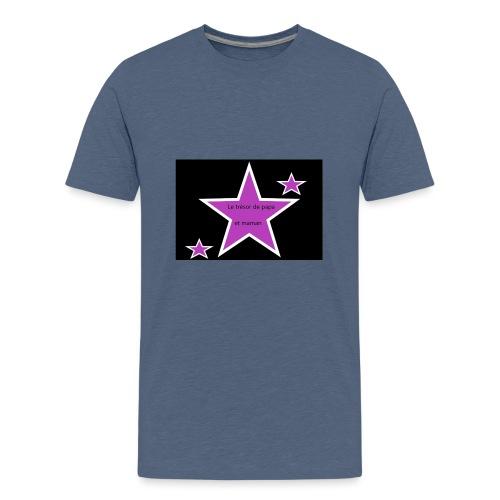 LE TRESOR DE PAPA ET MAMAN kidscontest - T-shirt Premium Ado