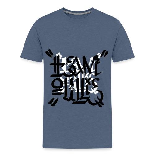 teamoullie logo white - Teenager Premium T-shirt
