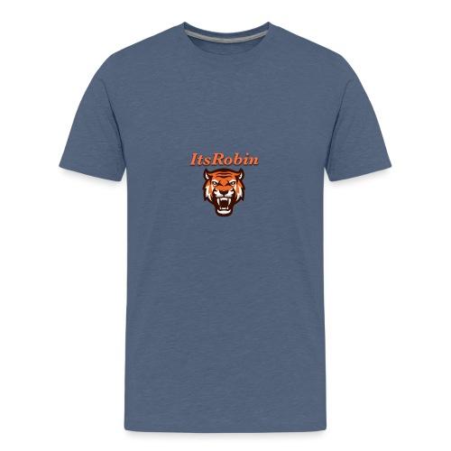 ItsRobin nieuw logo - Teenager Premium T-shirt