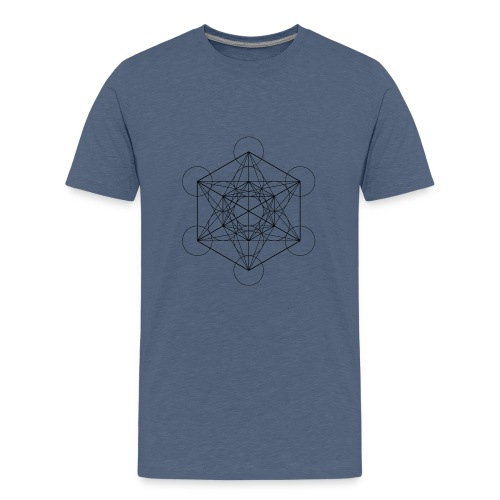 Metatrones Cube - Teenager premium T-shirt