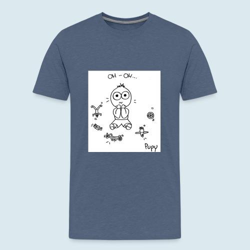 Pupy: oh-oh... - boy - Maglietta Premium per ragazzi