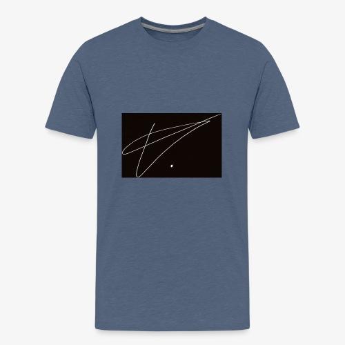 TVb - Premium T-skjorte for tenåringer