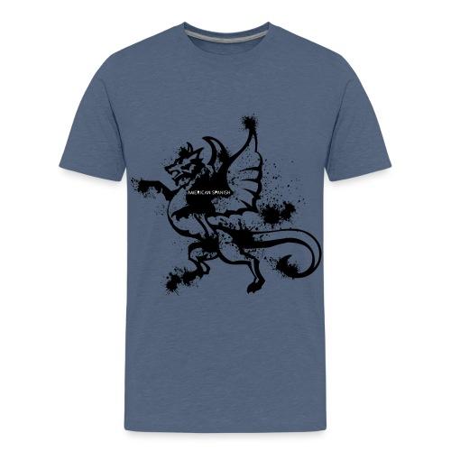American spanish dragón - Camiseta premium adolescente