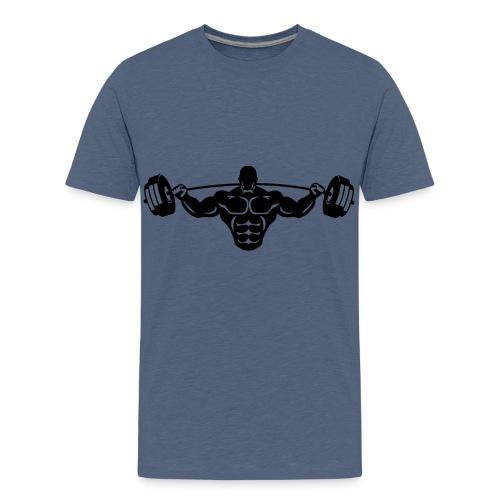 Laskafitness Black - Teenage Premium T-Shirt