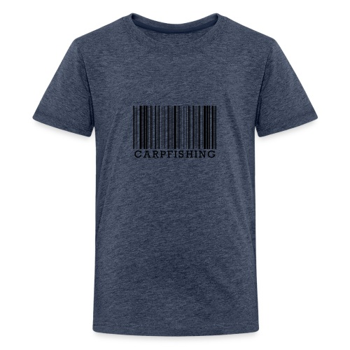 Karpfenangler Karpfen angeln Geschenk Angler Shirt - Teenager Premium T-Shirt