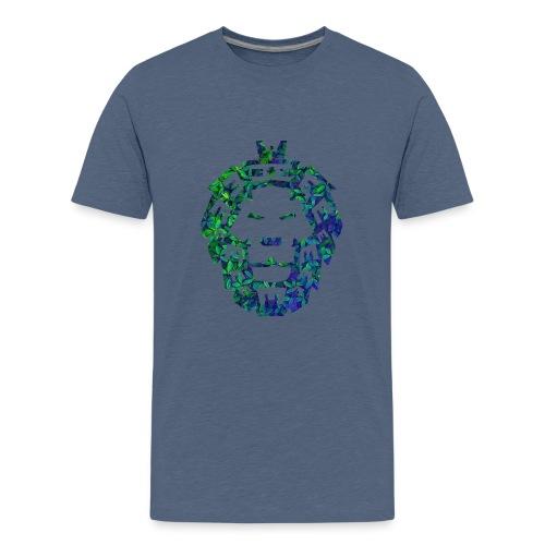 Löwen Kopf - Teenager Premium T-Shirt
