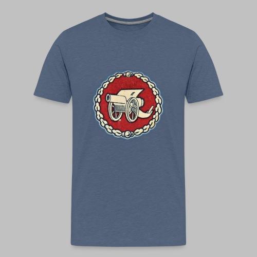 Odznaka działa polowego - Koszulka młodzieżowa Premium