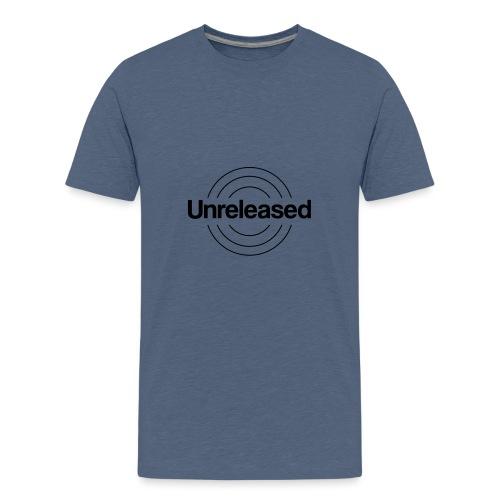 unreleased black - T-shirt Premium Ado