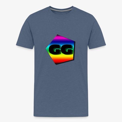 Rainbow GG - Premium T-skjorte for tenåringer