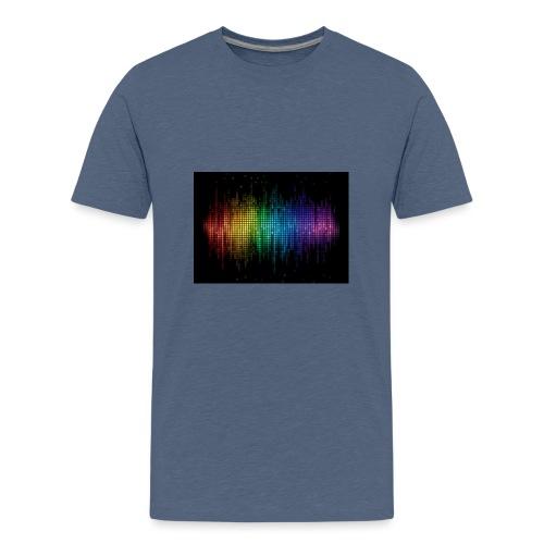 THE DJ - Teenage Premium T-Shirt