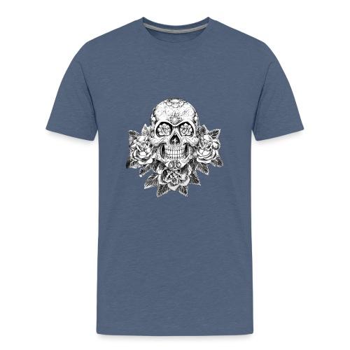 Tribal Skull - Maglietta Premium per ragazzi