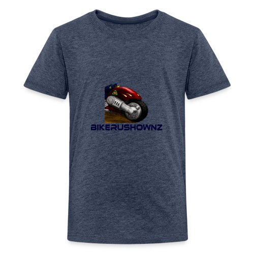 bikerushwonz merchandise - Teenage Premium T-Shirt