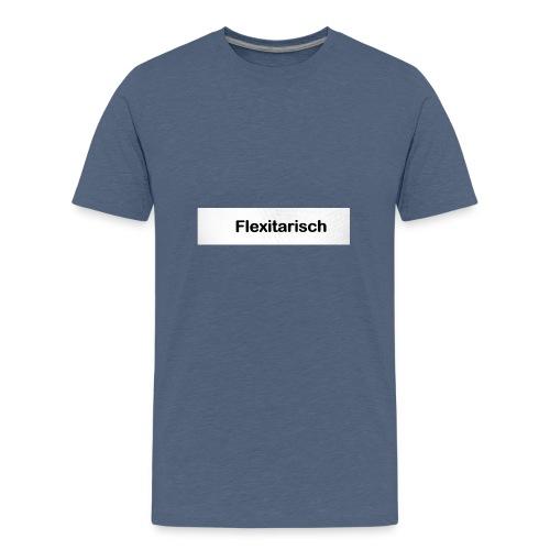 Flexitarisch - Teenager Premium T-Shirt