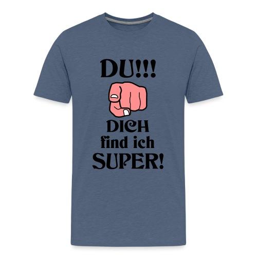 Wundervoller Besonderer Mensch Danke Lob Geschenk - Teenager Premium T-Shirt