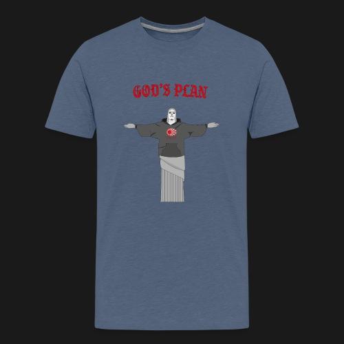 God's Plan - T-shirt Premium Ado