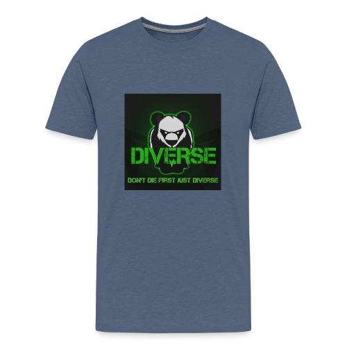 Diverse Logo - Teenage Premium T-Shirt
