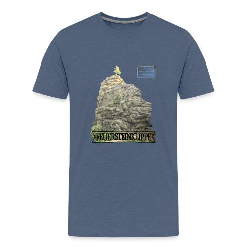 feuersteinklippe schierke harz 3 - Teenager Premium T-Shirt