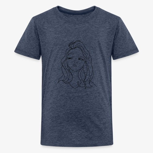 Grincheuse - T-shirt Premium Ado
