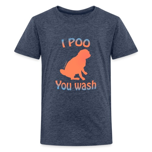 I poo you wash summer - T-shirt Premium Ado