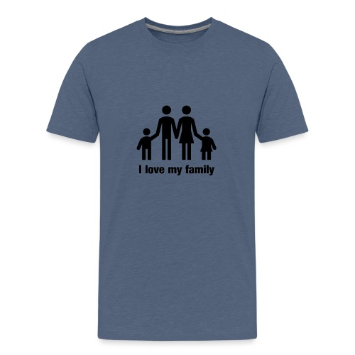 I love my family - Teenager Premium T-Shirt