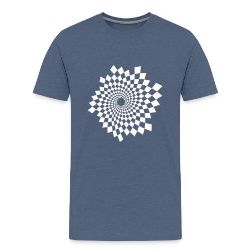 Optical Illusion 14A - Teenage Premium T-Shirt