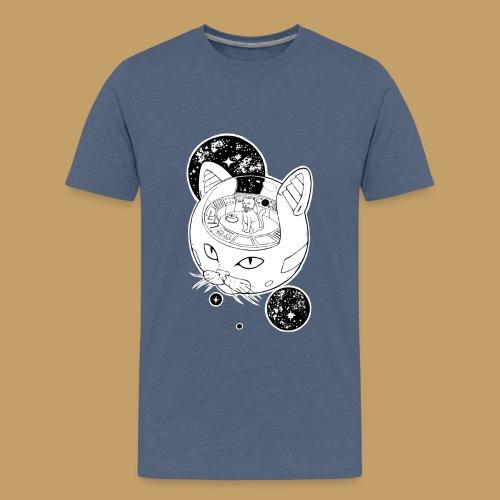 Kosmiczny Kot Imperator - Koszulka młodzieżowa Premium