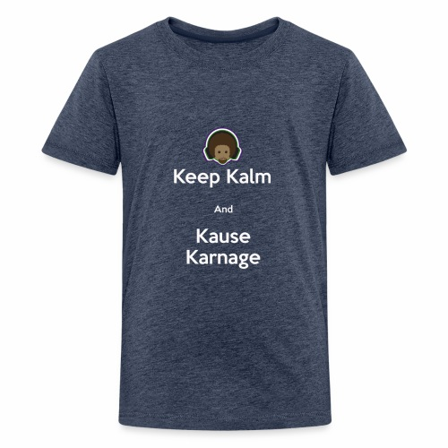 Keep Kalm - Teenage Premium T-Shirt