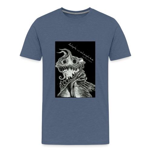 Modèle Gwen Hector Black - T-shirt Premium Ado
