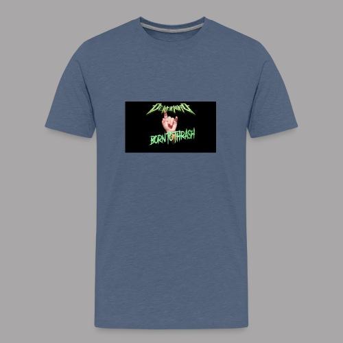 Born to Thrash! - Premium-T-shirt tonåring