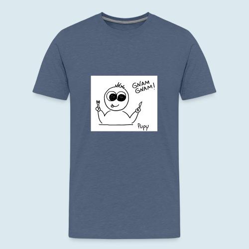 Pupy: gnam gnam! - boy - Maglietta Premium per ragazzi