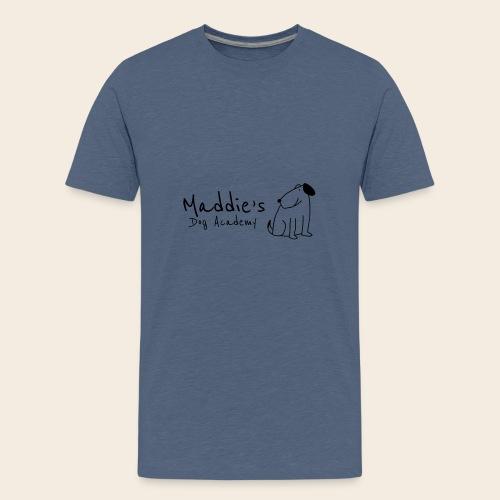 Académie des chiens de Maddie (noir) - T-shirt Premium Ado