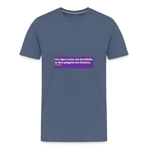 barzelletta - Maglietta Premium per ragazzi