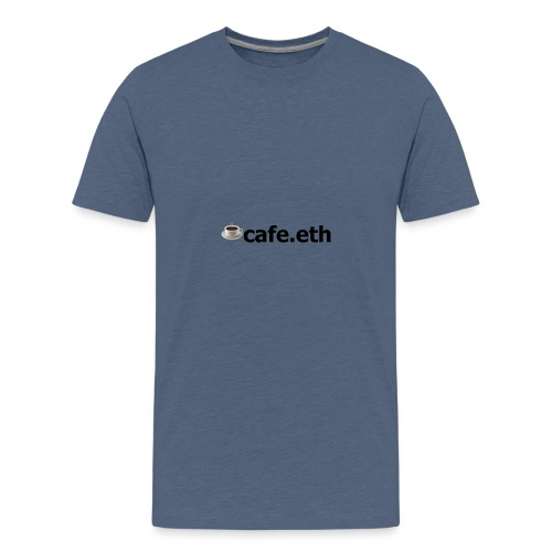 ☕cafe.eth - Teenager Premium T-Shirt