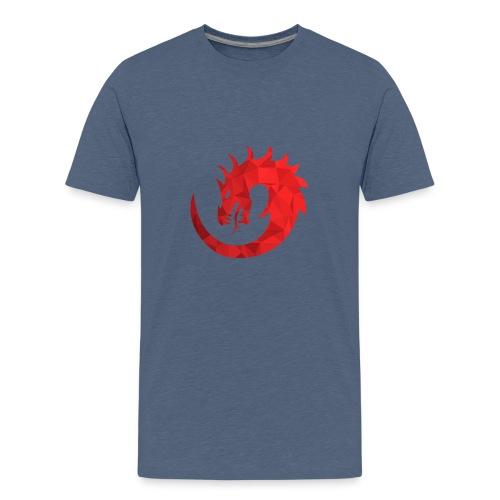 Dragon Rouge - T-shirt Premium Ado