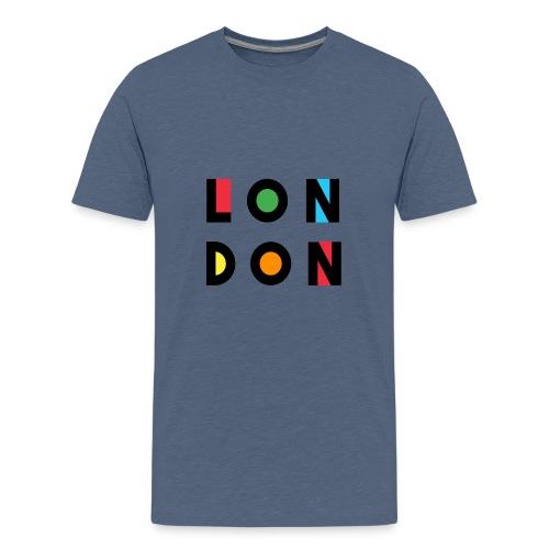Vintage London Souvenir - Retro Modern Art London - Teenager Premium T-Shirt