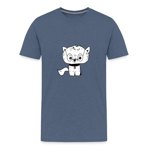 Grumpy cat Crittercontest - Teenager Premium T-Shirt