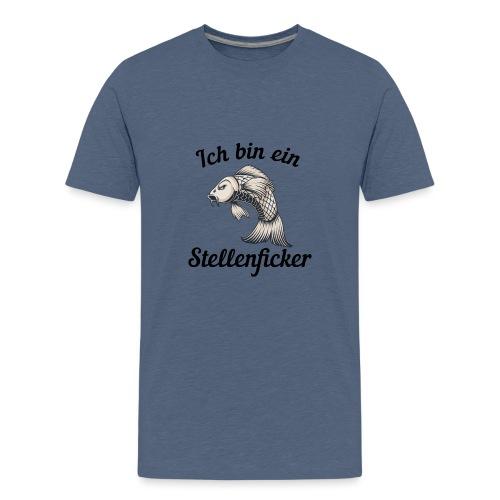Ich bin ein Stellenficker Karpfen - Teenager Premium T-Shirt