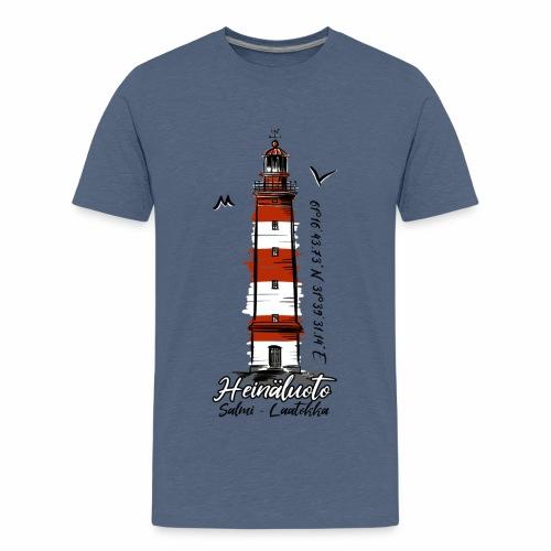 Old Finnish Lighthouse HEINÄLUOTO Textiles, Gifts - Teinien premium t-paita