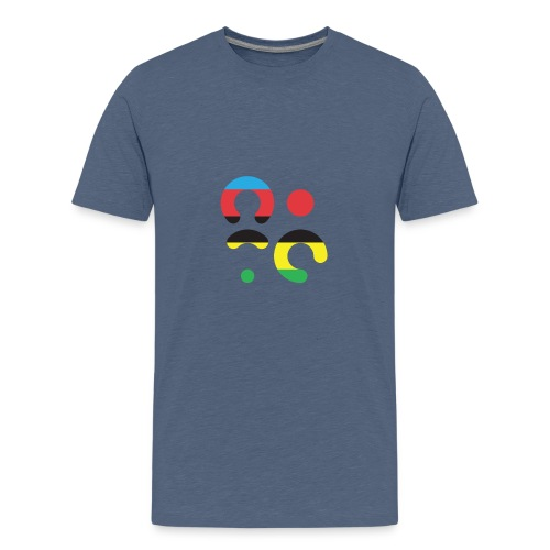 NITP RAINBOW - Teenage Premium T-Shirt