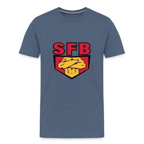 sfblogodefcopy - Teenager Premium T-Shirt