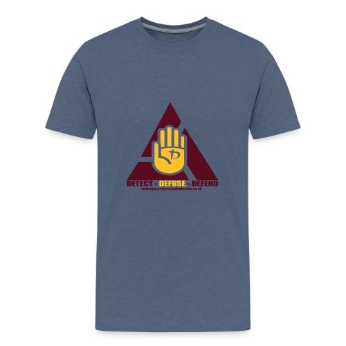 1stResponse Logo - Teenage Premium T-Shirt