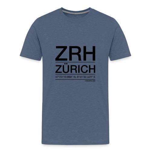 ZRH - Teenager Premium T-Shirt