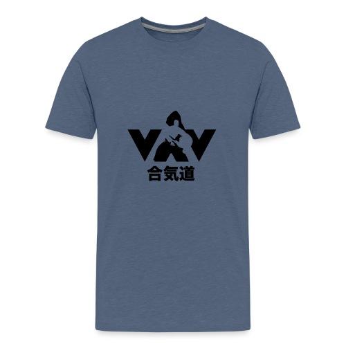 aikido zwart - Teenager Premium T-shirt