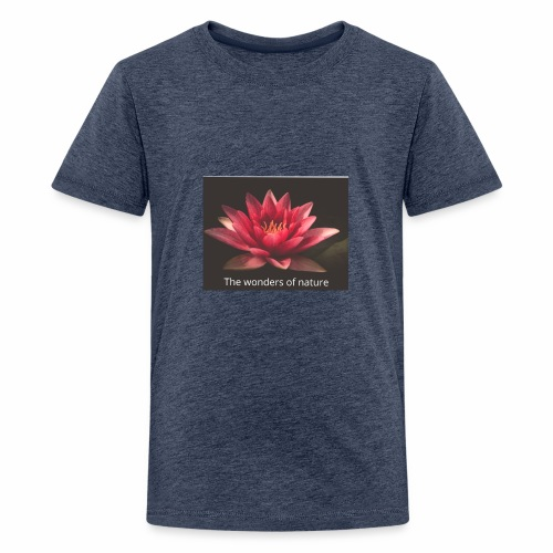 Lotus ny - Premium T-skjorte for tenåringer