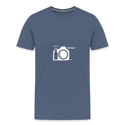Stuttgart LOGO png - Teenage Premium T-Shirt