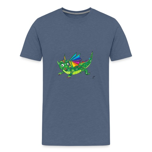 happy dragon - Teenager Premium T-Shirt