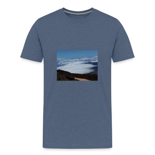 100 0443 - Camiseta premium adolescente